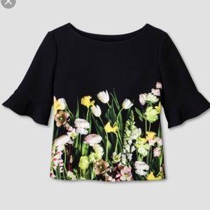 Victoria Beckham for Target Floral shirt